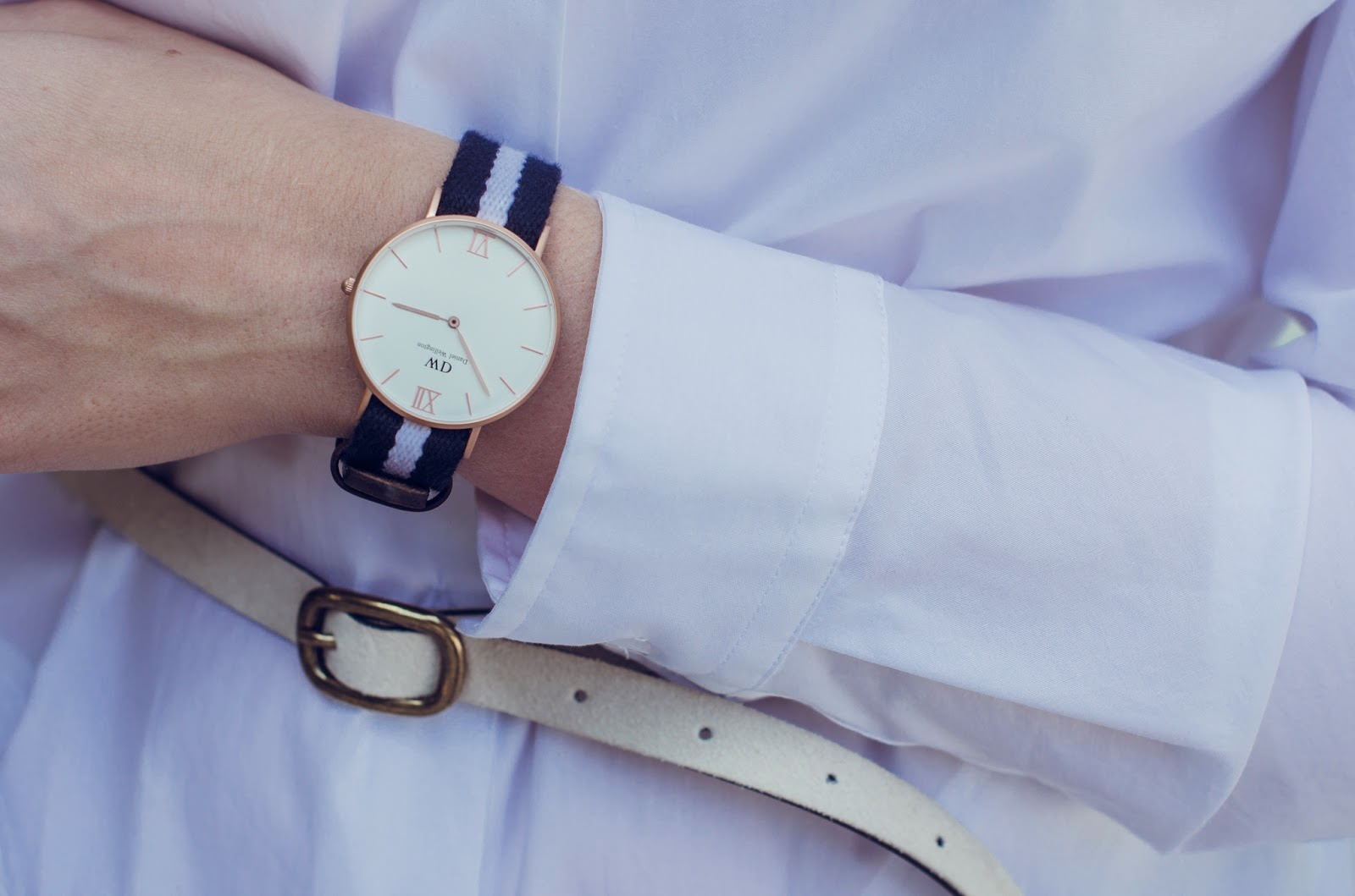 daniel wellington watch fashion blog