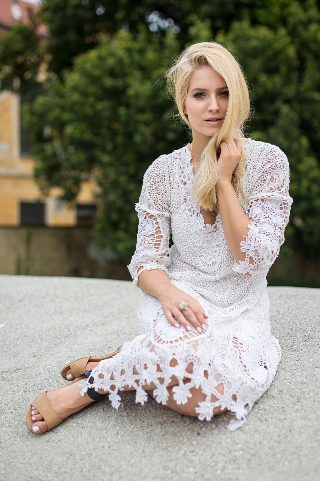 Mi Amore lace dress Free People