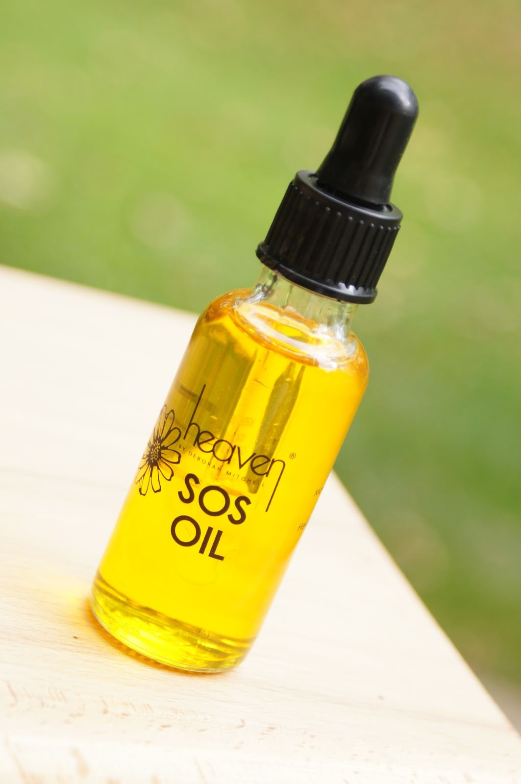 heaven by deborah mitchell sos oil beauty blog review