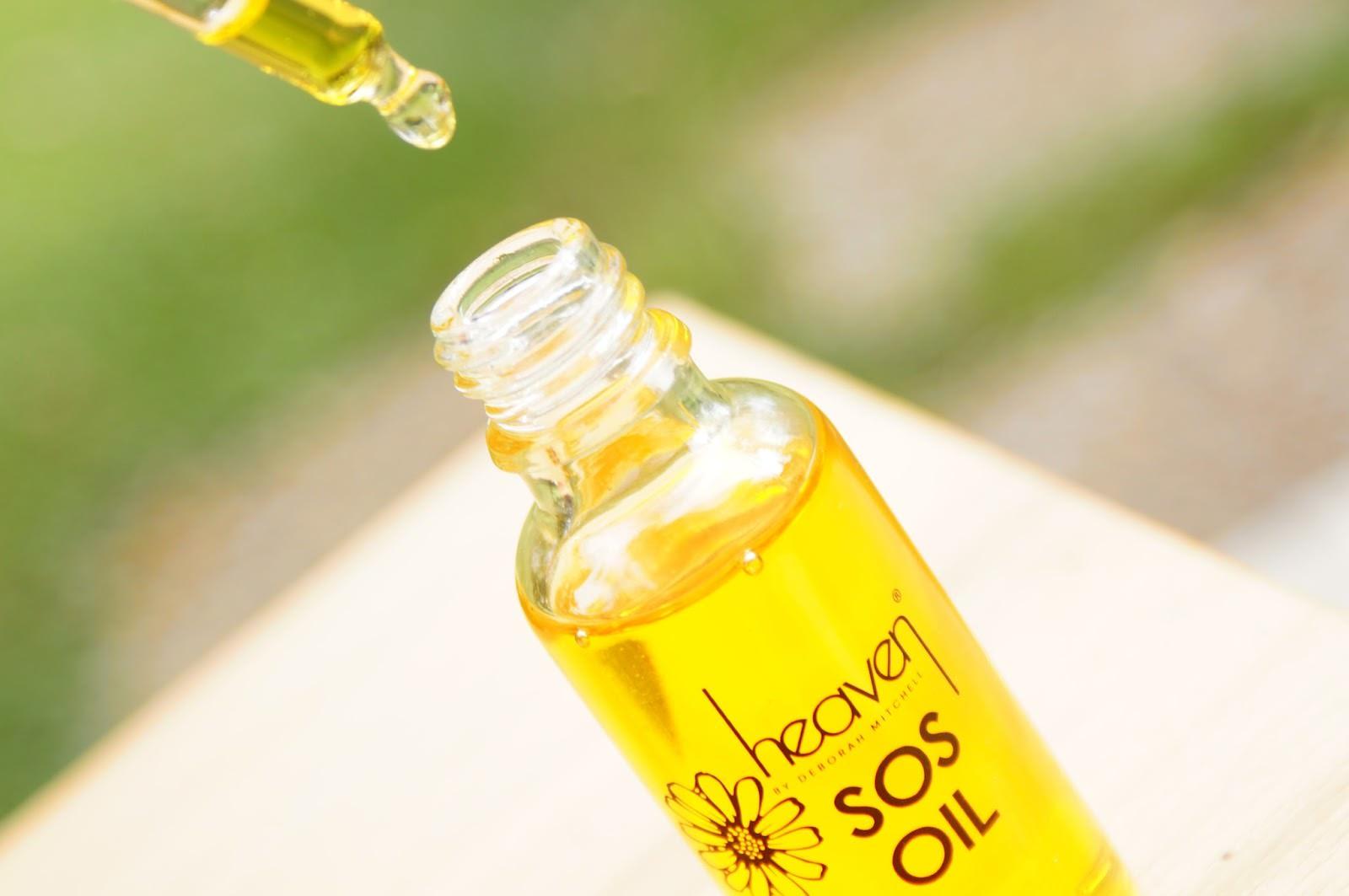 heaven by deborah mitchell sos oil čudežno olje