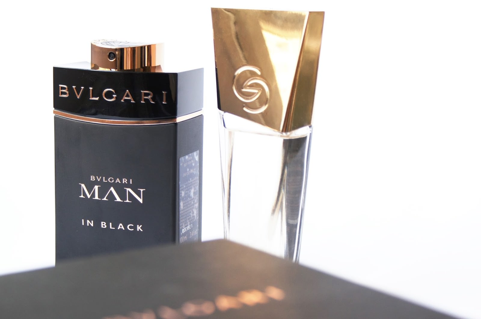 Oriflame Giordani Gold Eau de Parfum, Bvlgari Man in Black Eau de Parfum