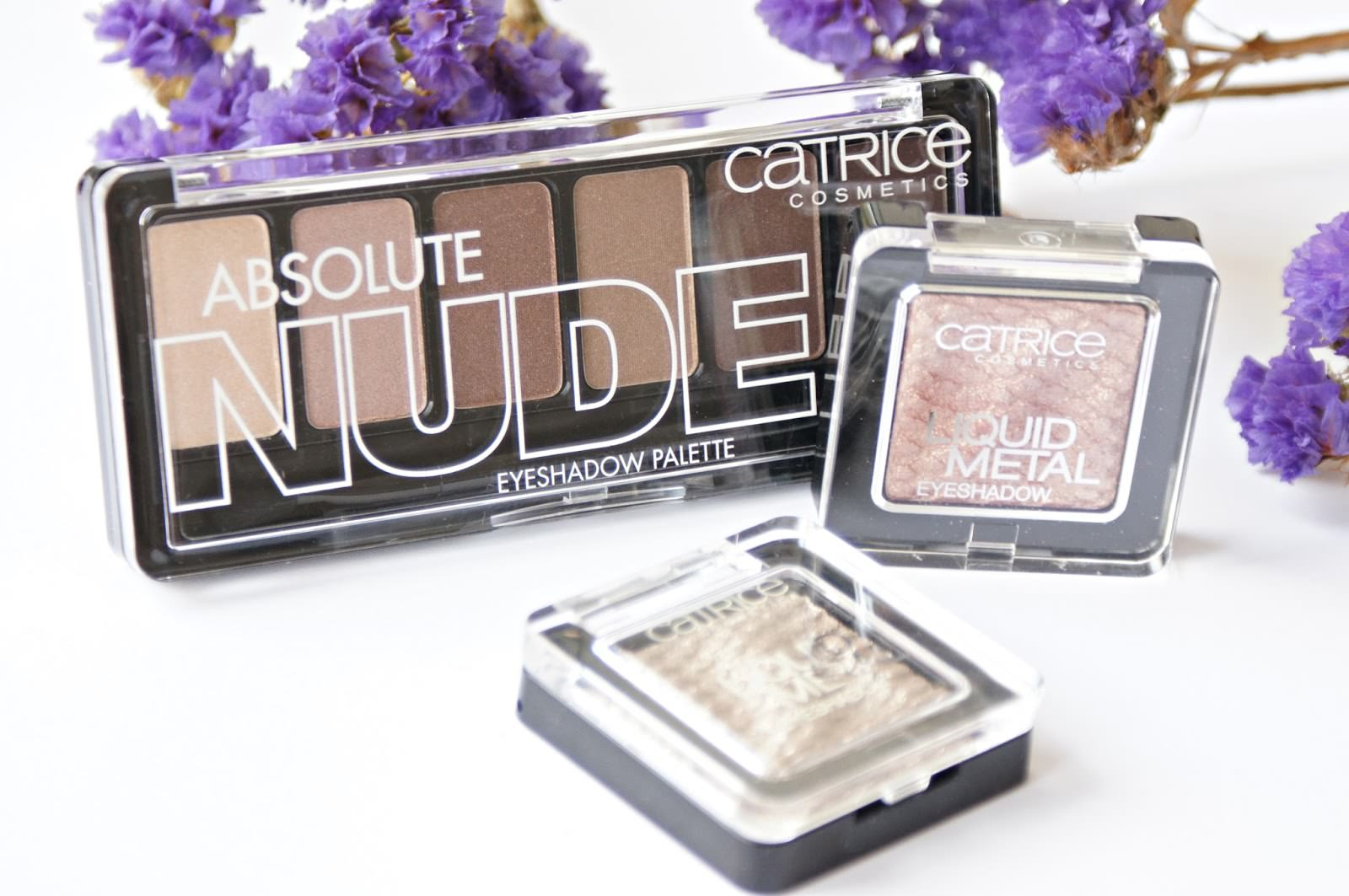 Catrice Absolute Nude Eyeshadow Palette (010 All Nude) Catrice Liquid Metal Eyeshadow (020 Gold n' Roses) Catrice Liquid Metal Eyeshadow (040 Under Treasure)