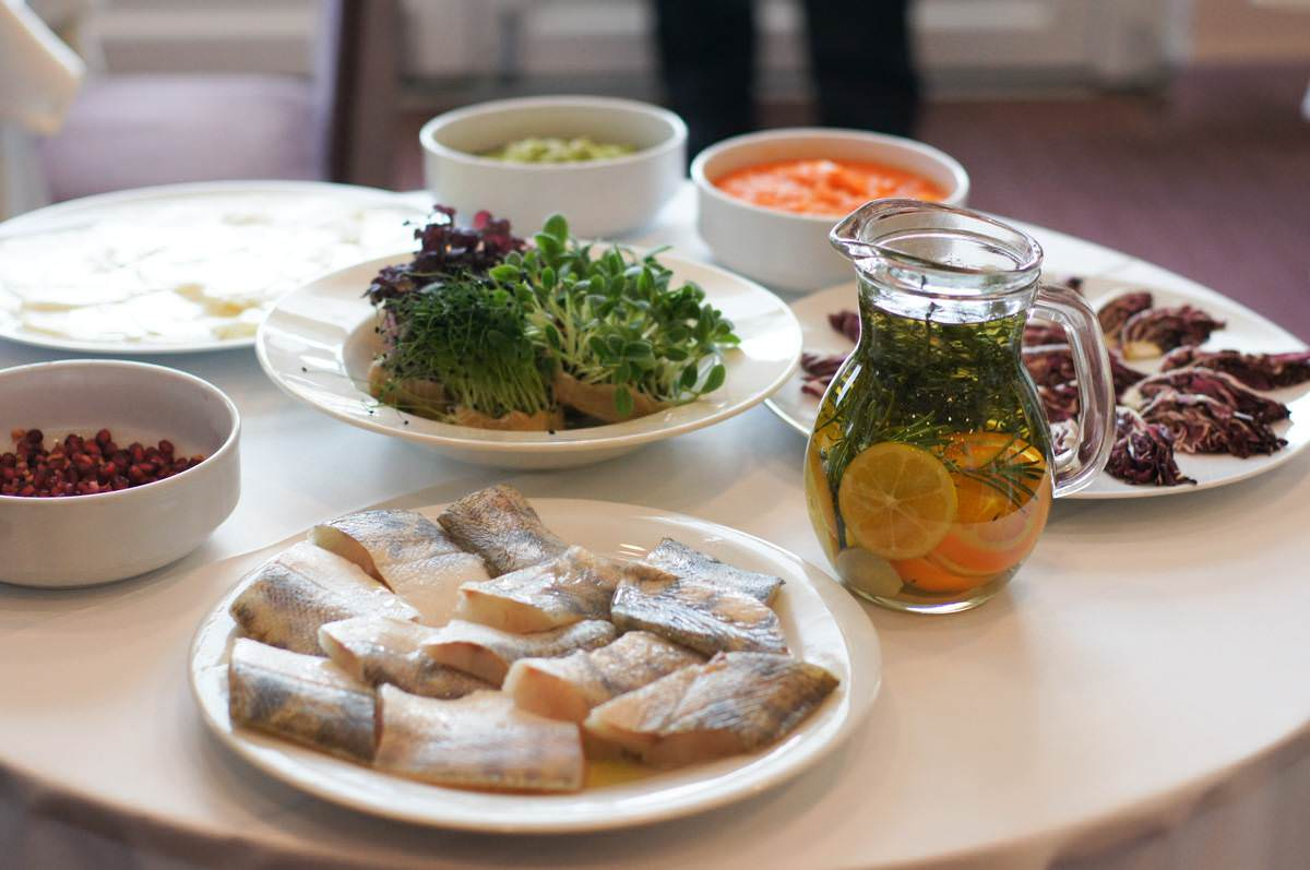 Grand Hotel Primus Ptuj food