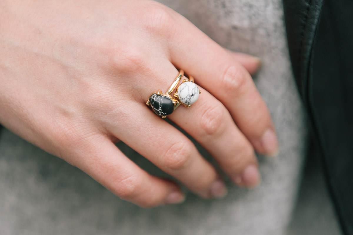 marble rings