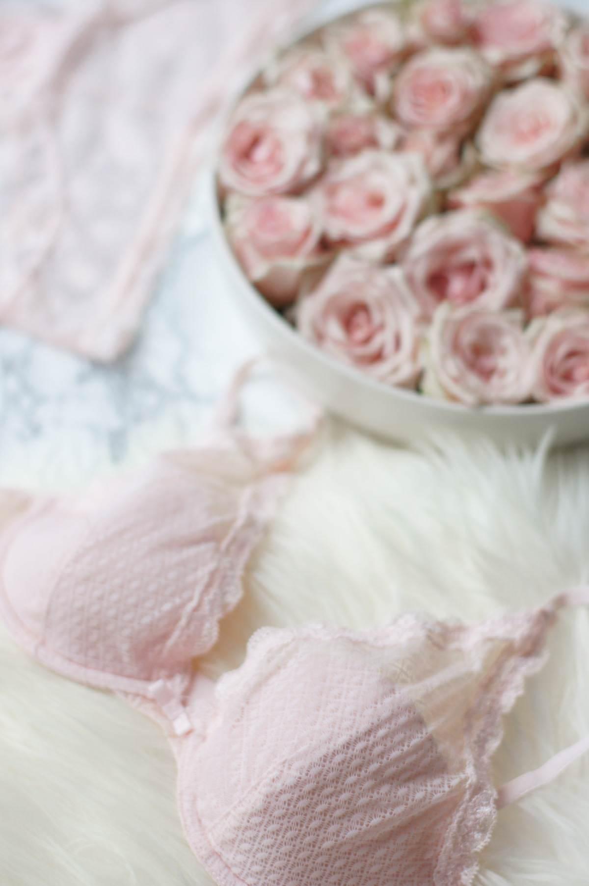 pastel lingerie