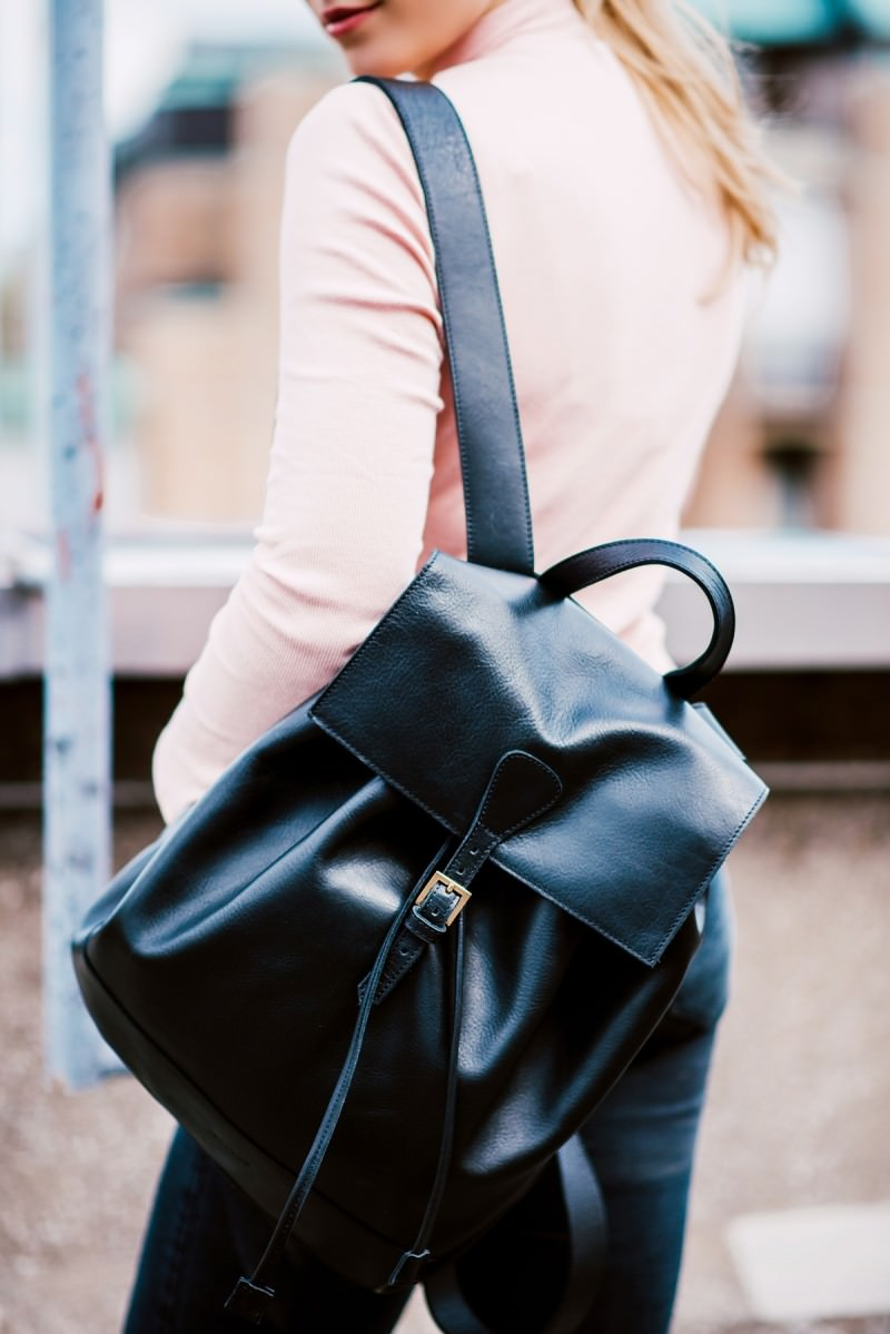 Viva's Leather Goods backpack
