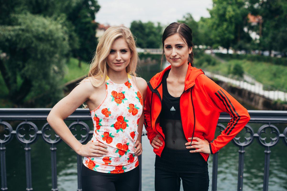 bloggers run with Adidas