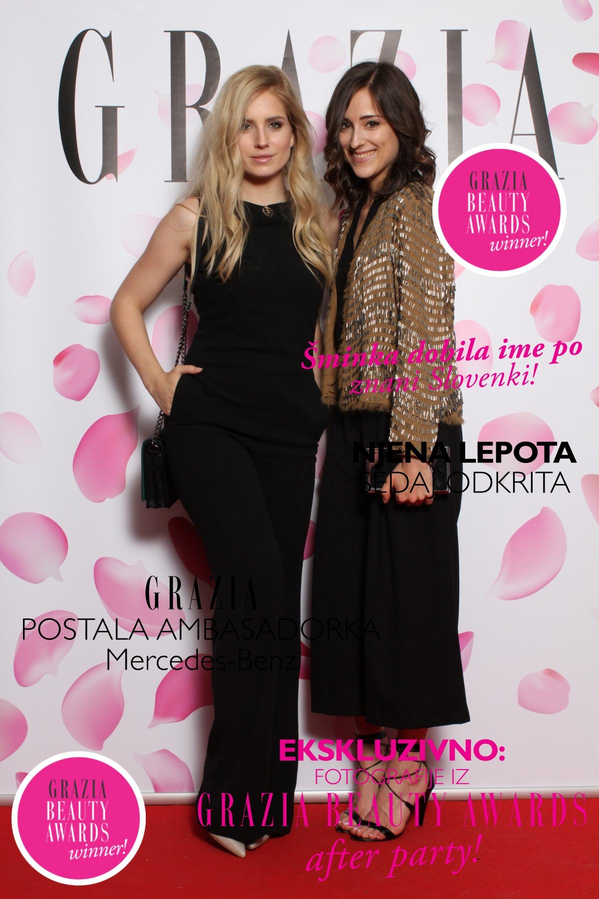 Grazia Beauty Awards