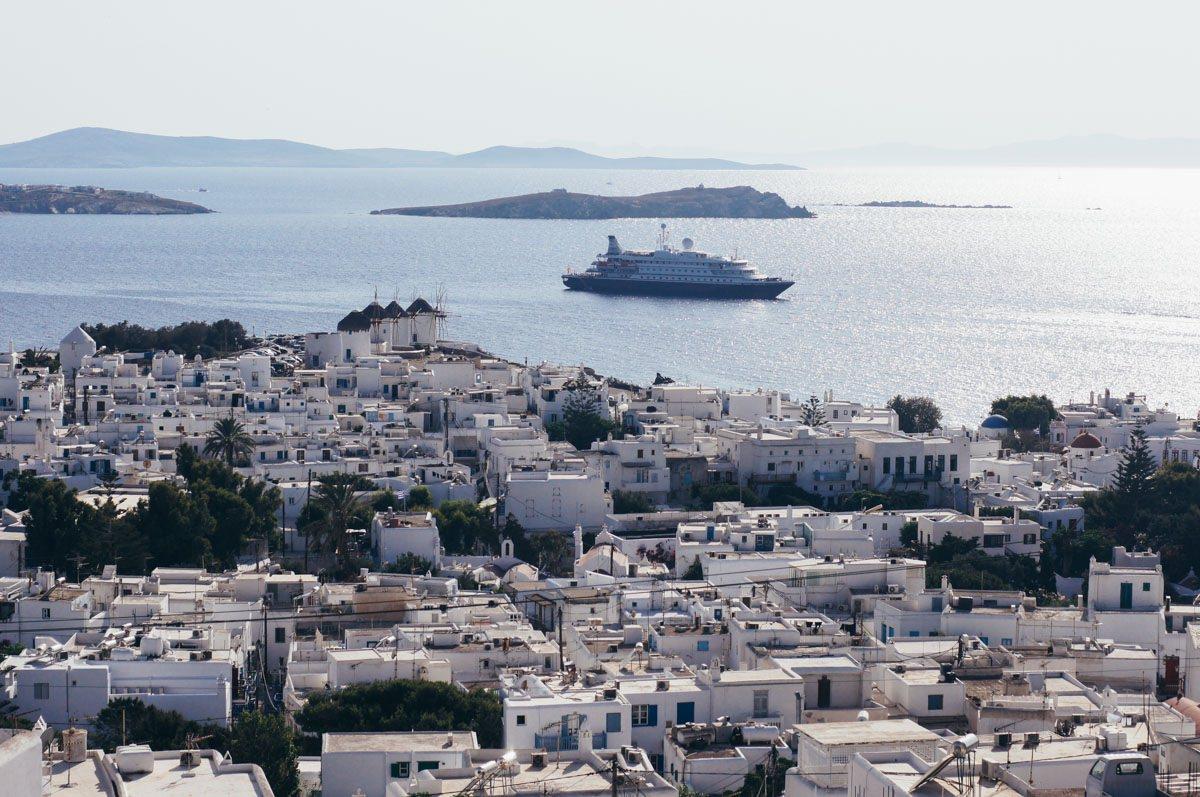 Mikonos Grčija