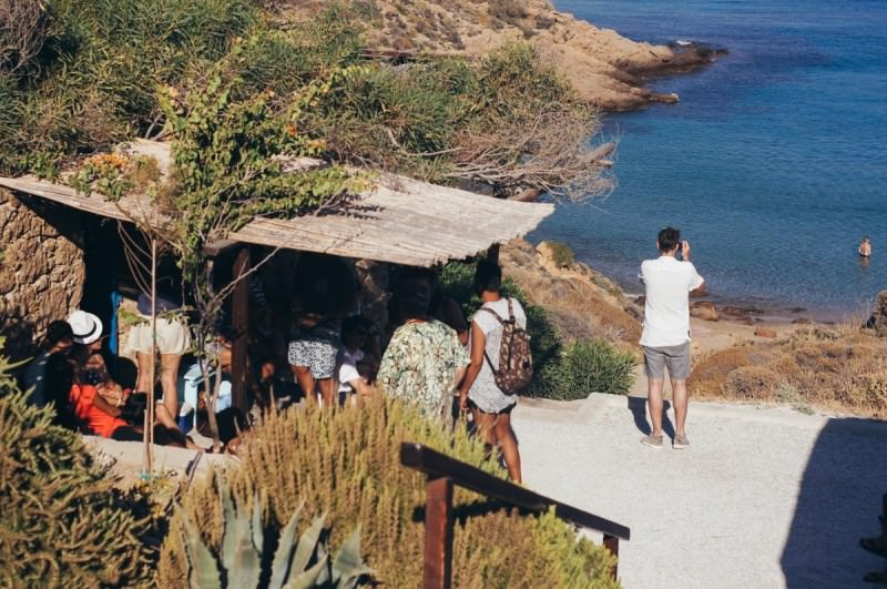 Mykonos Kiki's taverna