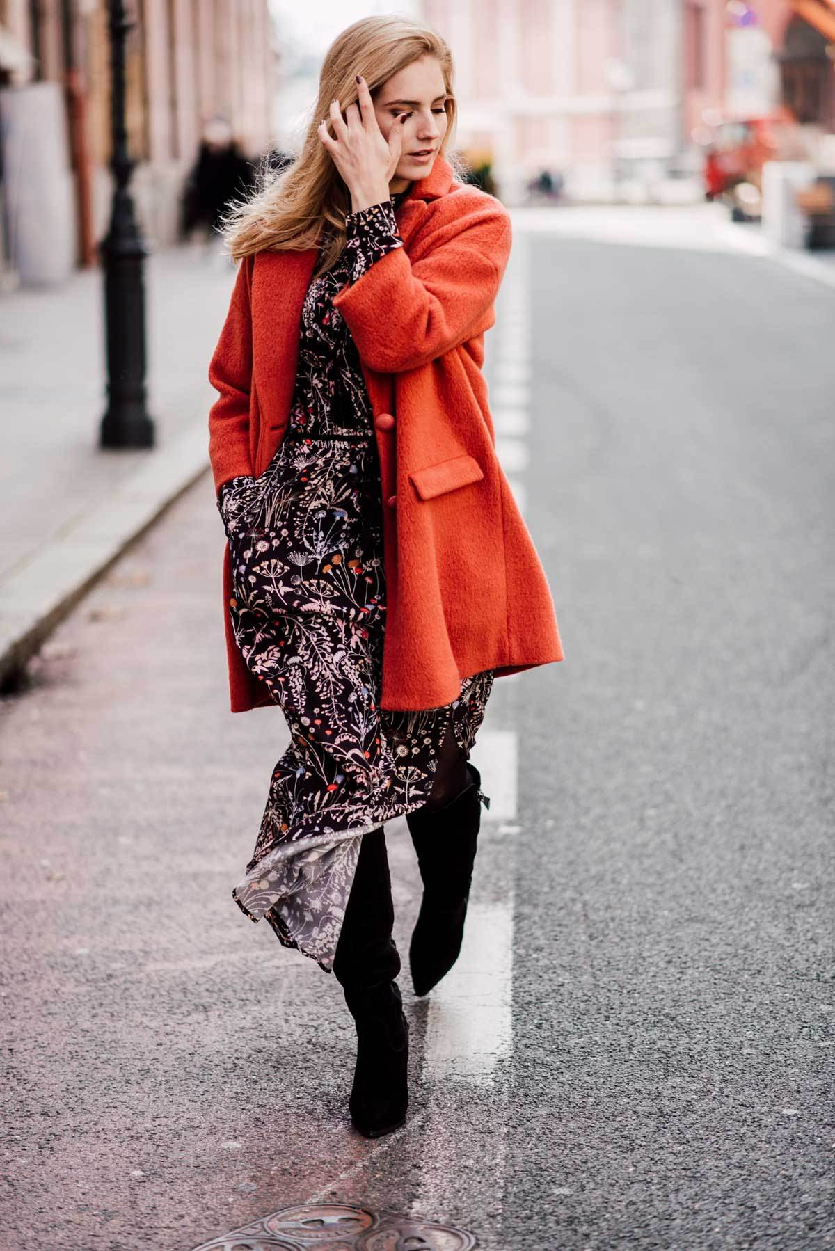 boho chic autumn outfit