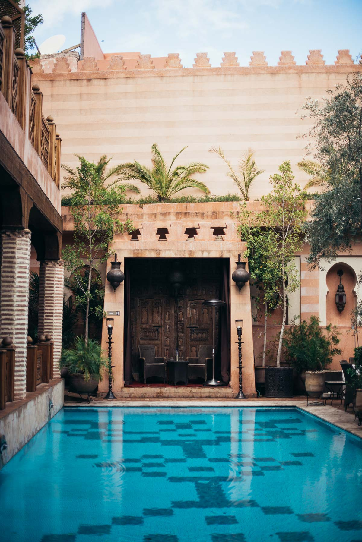 Legendary riad in the medina of marrakech la maison arabe marrakech morocc - Maison riad marrakech ...