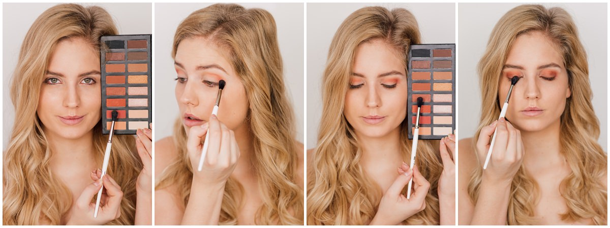 red makeup