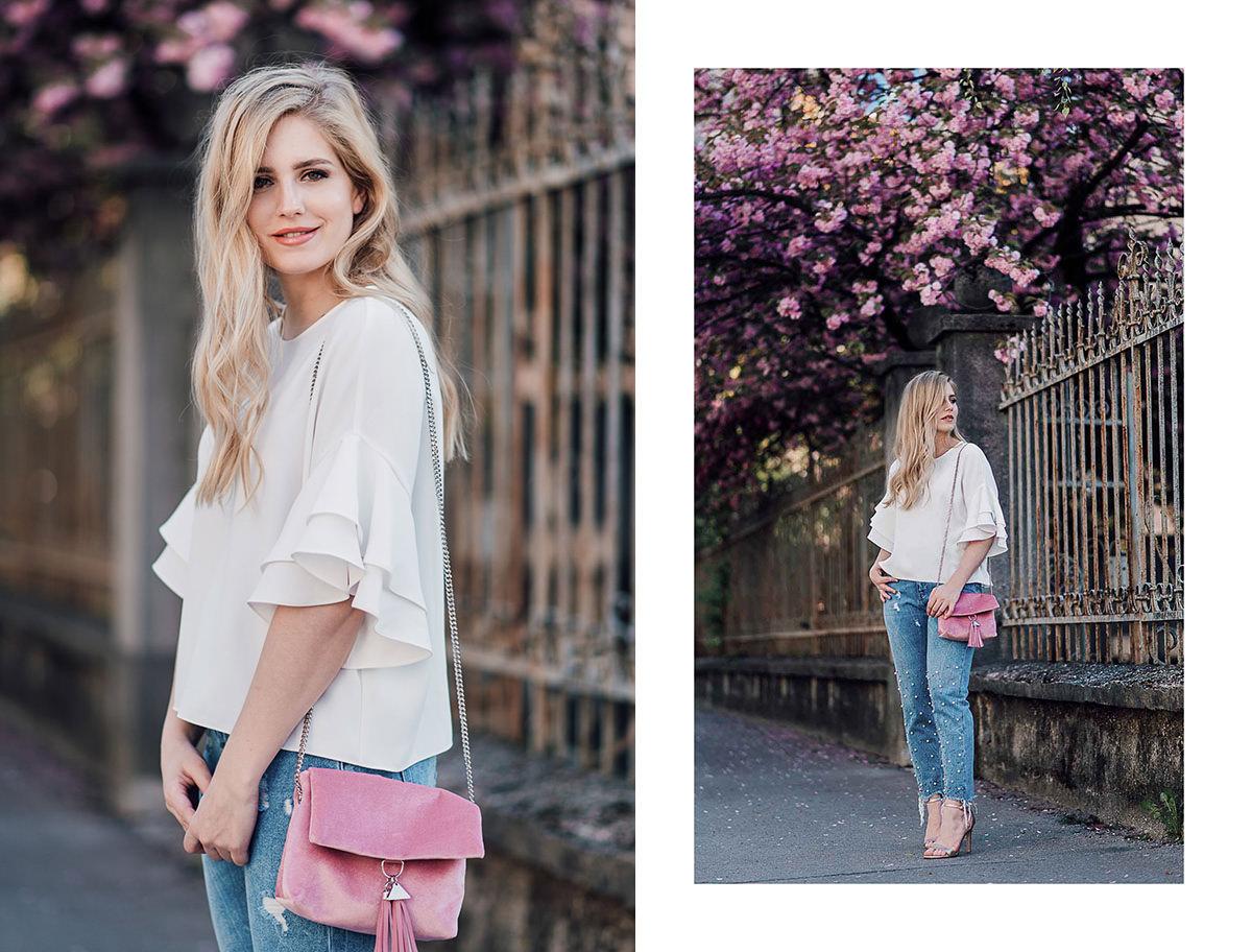 frills blouse