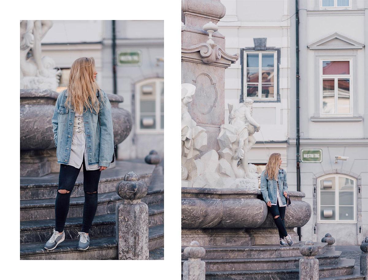 oversized jeans jacket