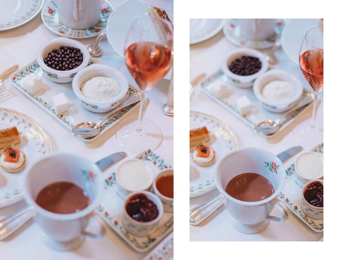 afternoon tea La Galerie