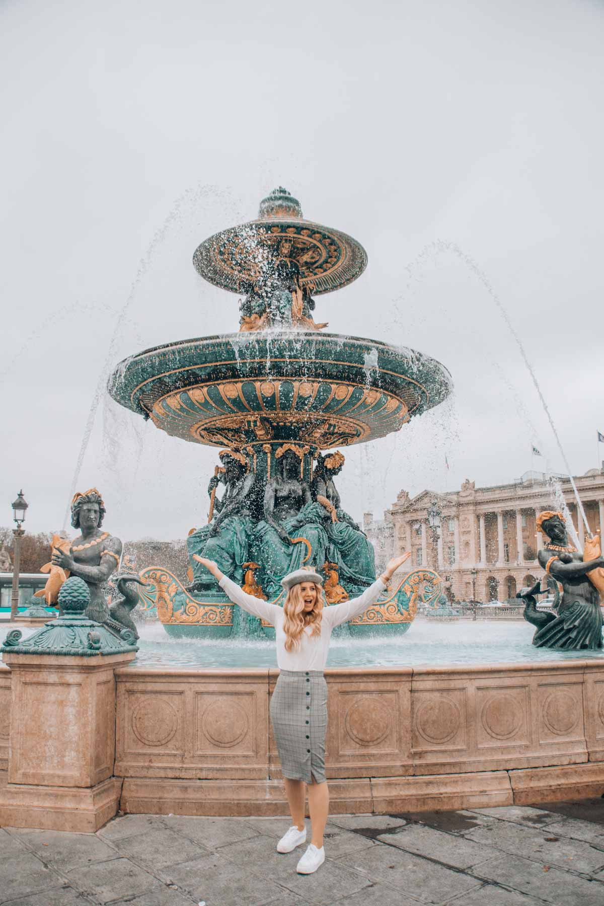 Fontaine des Mers Paris travel guide