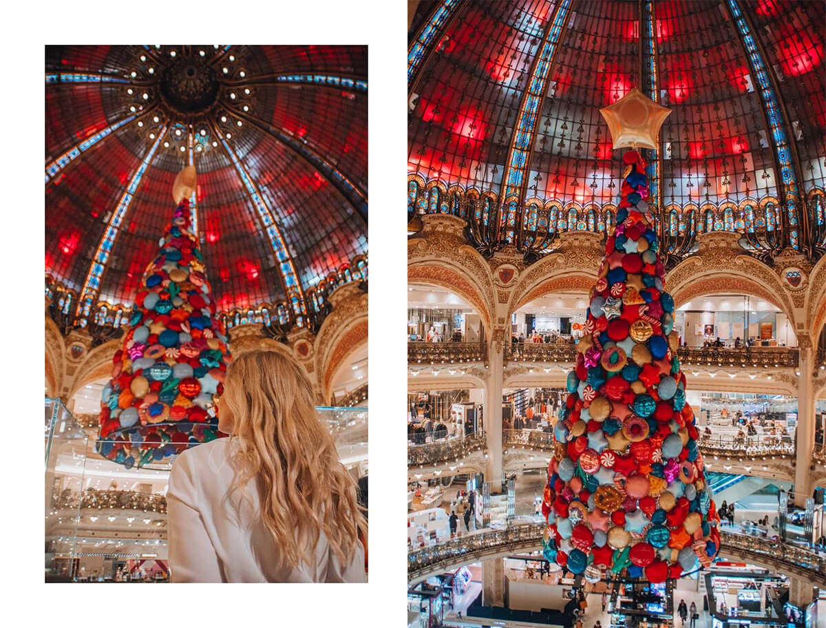 Galeries LaFayette travel guide
