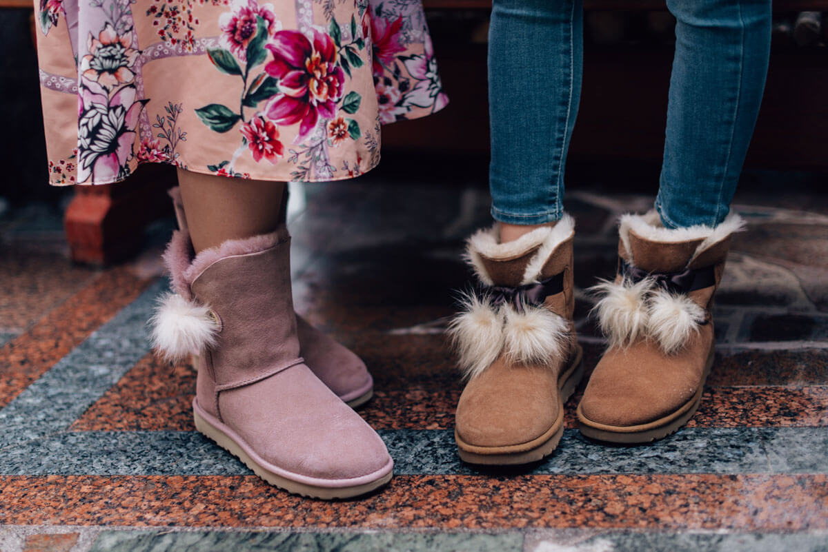 UGG fashion blogger