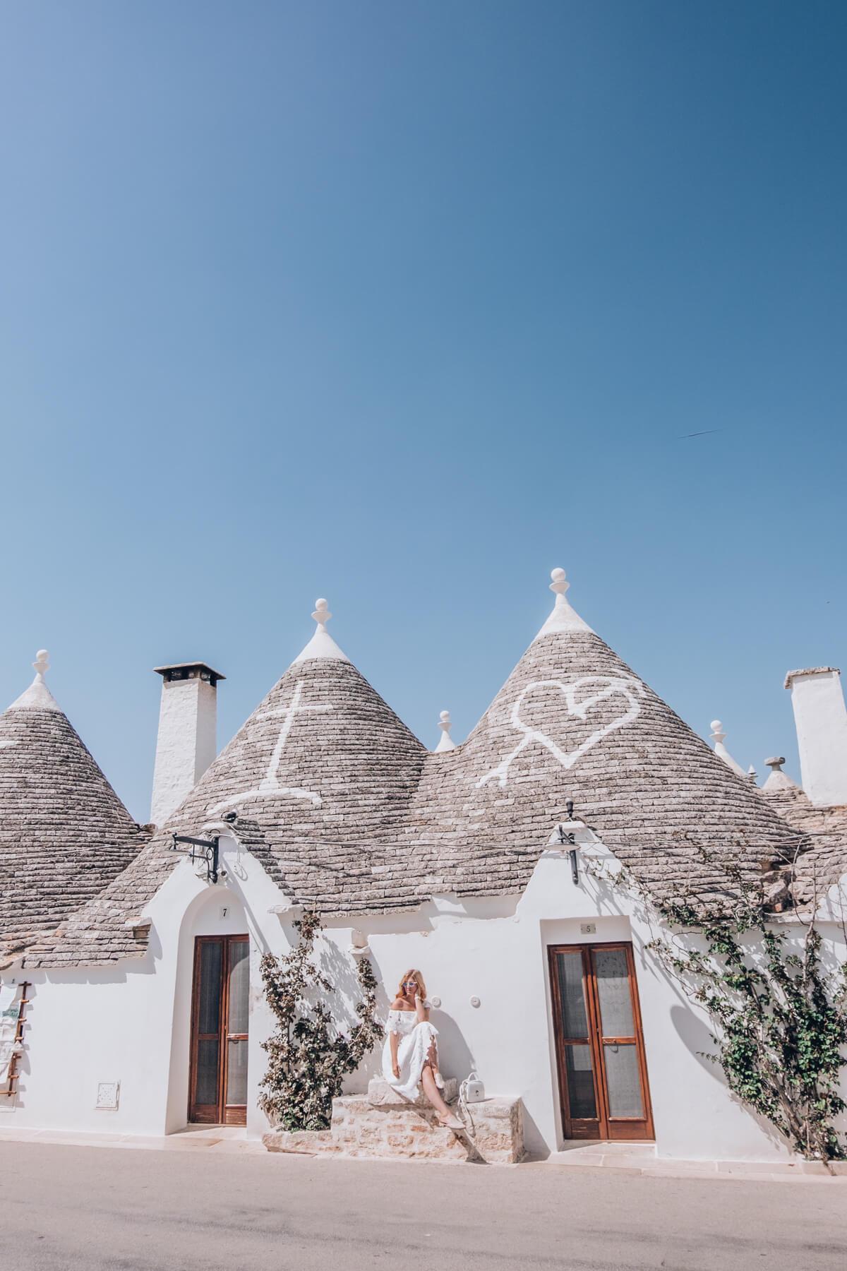 visit Alberobello