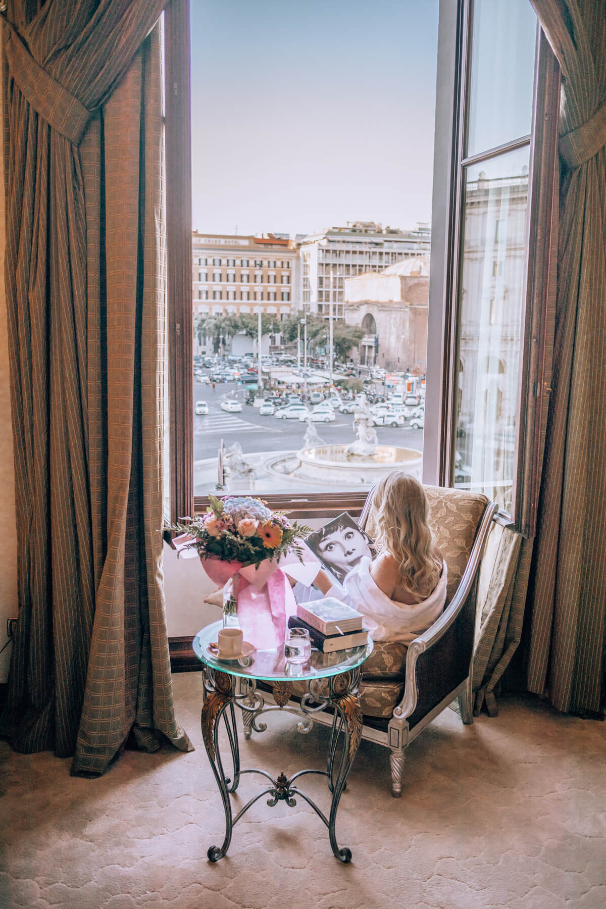 5 Star Hotel In Rome With Rooftop Pool Terrace Palazzo Naiadi