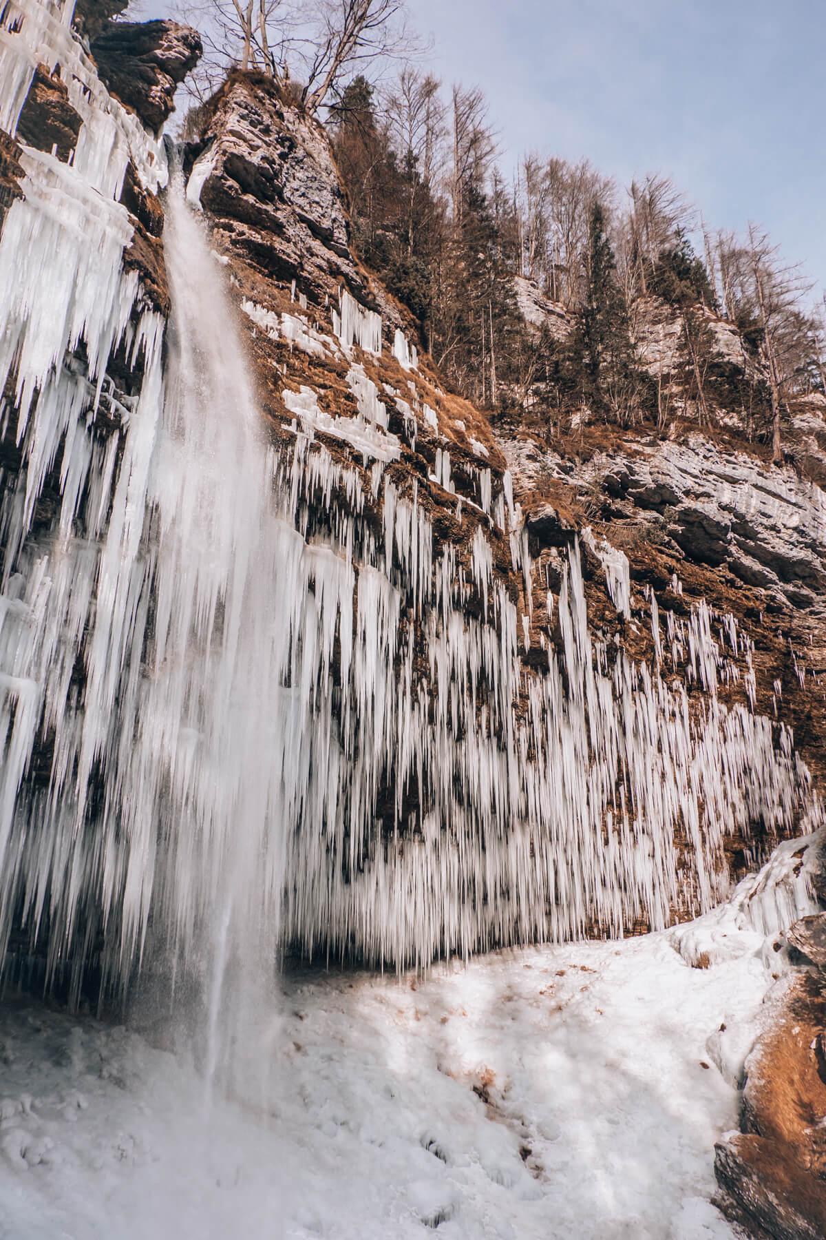 Pericnik waterfall