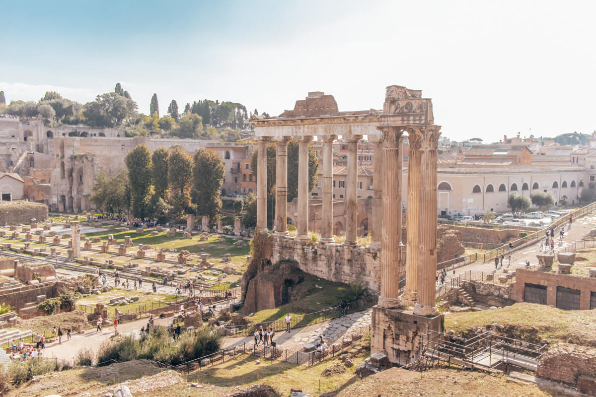 Rome Forum Palatine